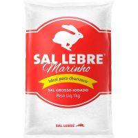 Sal Grosso Lebre 1Kg   Caixa com 10 Unidades - Cod. 7896110100814C10