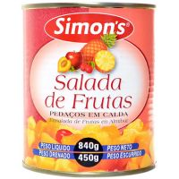 Salada De Frutas Simon's 450g - Cod. 7896305800529