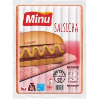 Salsicha 17cm Mista Fina Minu 2kg - Cod. 7896000903594