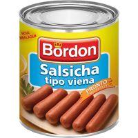Salsicha Viena Bordon 180g - Cod. 7896031232083