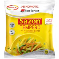 Tempero Sazon Profissional Amarelo Bag 900g - Cod. 7891132001774