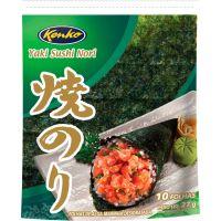 Yaki Sushi Nori Green Kenko 27g com 10 folhas - Cod. 7896007838776
