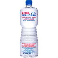 Álcool Líquido Araucária 70º 1L | Caixa com 12un - Cod. 7898172662163C12