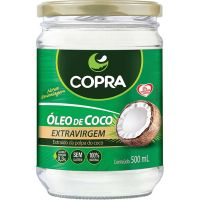 Óleo de Coco Extra Virgem Copra 500ml - Cod. 7898905356185