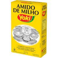 Amido de Milho Yoki 500g | Caixa com 12 Unidades - Cod. 7891095003570C12