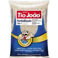 Arroz Parboilizado Tio João 5kg - Cod. 7893500018452