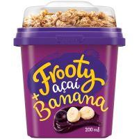 Açaí com Banana e Granola Frooty 200ml - Cod. 17896594971297