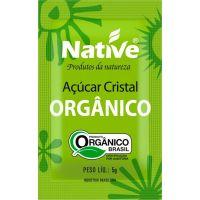 Açúcar Cristal Native Sachê 5g | Com 200 Unidades - Cod. 17898206502578