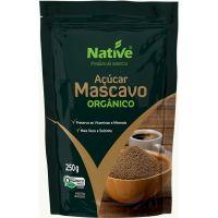 Açúcar Mascavo Orgânico Native Sachê 4g | Com 250 Unidades - Cod. 17898206502554