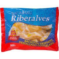 Bacalhau Desfiado Dessalgado e Congelado Riberalves 500g - Cod. 5601809503447C14