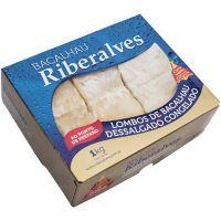 Bacalhau Lombo Dessalgado e Congelado Riberalves 500g - Cod. 5601809006443C10