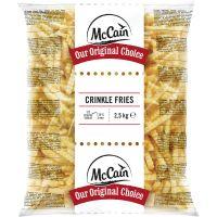 Batata Congelada Ondulada Crinkle Mccain 2,5kg - Cod. 8710438000863