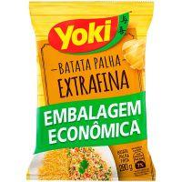 Batata Palha Extra Fina Yoki Pacote 280g | Caixa com 8 Unidades - Cod. 7891095029167C8