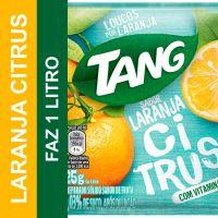 Bebida em Pó Tang Laranja Citrus 25g | Caixa com 15 unidades - Cod. 7622210762856C15