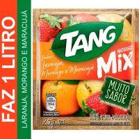 Bebida em Pó Tang MIX Laranja, Morango e Maracujá 25g | Caixa com 15 unidades - Cod. 7622210655639C15