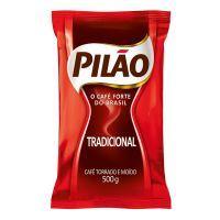 Café Pilão Torrado e Moído Tradicional Almofada 500g - Cod. 7896089012019