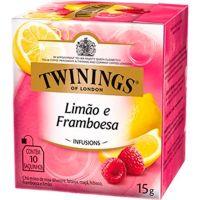 Chá Limão e Framboesa Twinings 1,5g | Com 10 Unidades - Cod. 70177169640C12