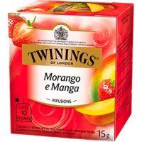 Chá Morango e Manga Twinings 1,5g | Com 10 Unidades - Cod. 70177169633C12