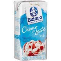 Creme de leite Batavo Tetra Pack 200g | Caixa com 24 Unidades - Cod. 7891097017254C24