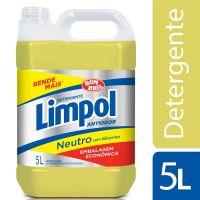 Detergente Limpol Neutro 5 L - Cod. 7891022242003