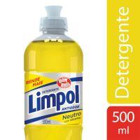 Detergente Líquido Neutro Limpol Bombril 500ml - Cod. 17891022638001