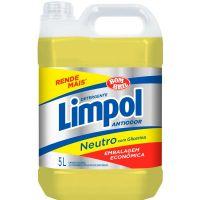 Detergente Líquido Neutro Limpol Brombril 5L - Cod. 17891022242000