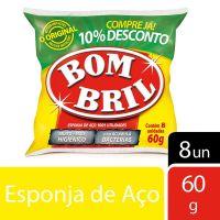 Esponja De Aço Bombril 60 g - Cod. 7891022101003