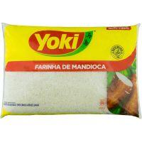 Farinha de Mandioca Yoki 1kg | Caixa com 5 Unidades - Cod. 7891095001101C5