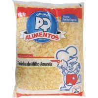 Farinha de Milho Amarela PQ Alimentos 2kg - Cod. 7896635500816