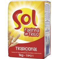 Farinha de Trigo Especial Sol 1kg - Cod. 7891080000119