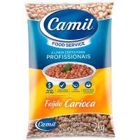 Feijão Carioca Camil 2kg | Caixa com 5 Unidades - Cod. 7896006751175C5