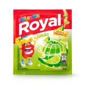 Gelatina em pó Royal Limão 25g   Caixa com 15 unidades - Cod. 7622300859909C15