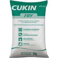 Gordura Vegetal Cukin Fry Bunge Sachê 3kg - Cod. 7891107106527