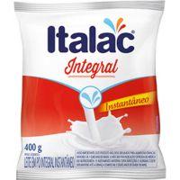 Leite em Pó Italac Integral Instantâneo 400g - Cod. 7898080641694