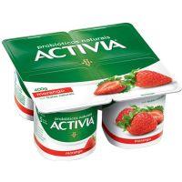 Leite Fermentado sabor Morango Activia 400g - Cod. 17891025103223