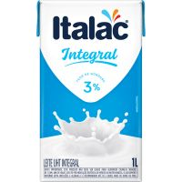 Leite UHT Integral Italac 1L - Cod. 7898080640031