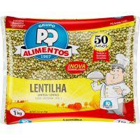 Lentilha PQ Alimentos 1kg - Cod. 7896635502858