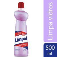 Limpa Vidros com Álcool 4 em 1 Limpol Squeeze 500 ml - Cod. 7891022860603