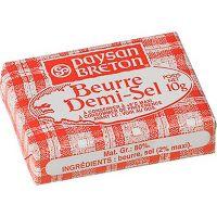 Manteiga com Sal Paysan Breton 10g   Com 100 unidades - Cod. 3184030001828