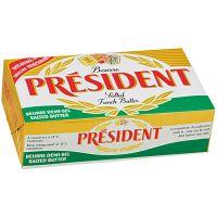 Manteiga com Sal President Tablete 8g   Com 125 Unidades - Cod. 3155251365549