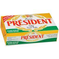 Manteiga com Sal Président 8g   Com 125 Unidades - Cod. 3428200383377