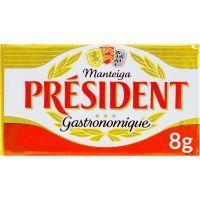 Manteiga sem Sal President Tablete 8g   Com 125 Unidades - Cod. 3228020481082
