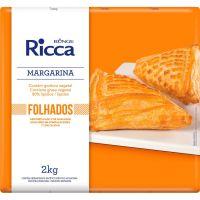 Margarina Folhados Ricca Placa 2kg - Cod. 17891080404334