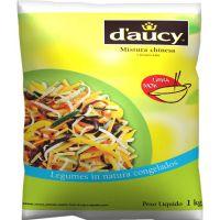 Mistura Chinesa Congelada D'aucy 1kg | Caixa com 10 Unidades - Cod. 3248450080563C10