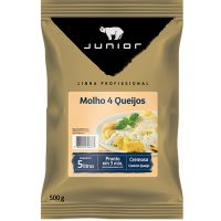 Molho 4 Queijos Junior Bag 500g - Cod. 7896421606777C20