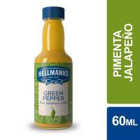 Molho de Pimenta Hellmann's Jalapeño Verde 60ml - Cod. 27891150062614