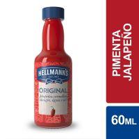 Molho de Pimenta Hellmann'sJalapeño Original 60ml - Cod. 27891150062621