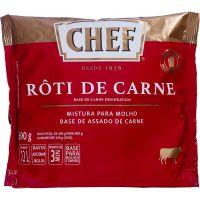 Molho Escuro Rôti de Carne Chef Nestlé 600g | Caixa com 6 Unidades - Cod. 7891000258873C6