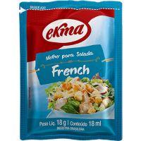 Molho para Salada French Ekma Sachê 18g | Com 120 Unidades - Cod. 17896455006137