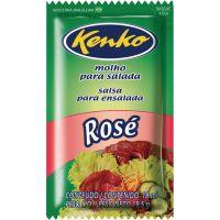 Molho para Salada Rosé Kenko Sachê 18ml | Com 120 Unidades - Cod. 17896007821850